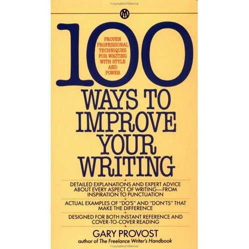 100-ways-to-improve-your-writing-by-gary-provost