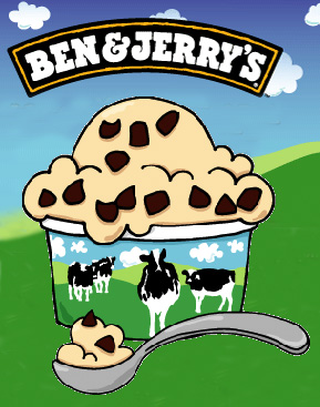 free ice cream at ben-and-jerrys