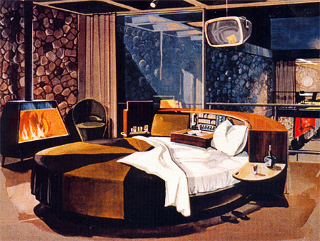 space age bachelor pad