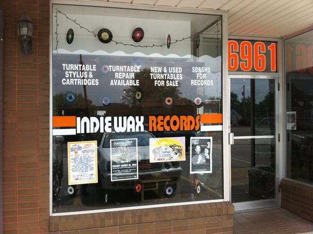IndieWax Youngstown Ohio record stores