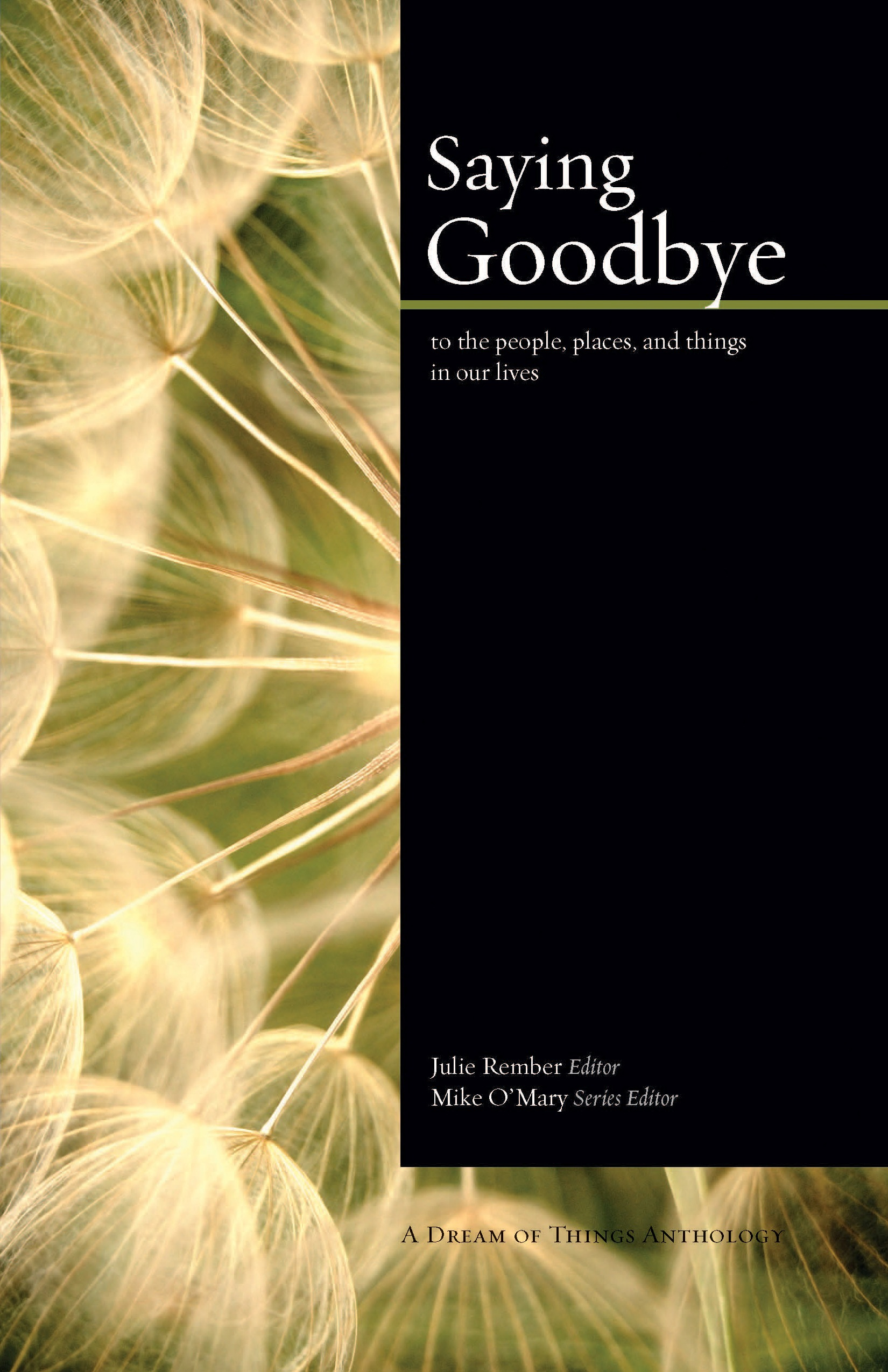 Saying Goodbye Front Cover