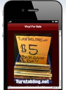 Turntabling Vinyl For Sale Bargain Bin five bucks