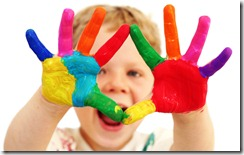 Creative Child Hands